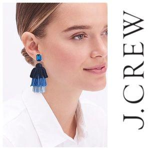 Anthropologie Layered Tassel Earrings